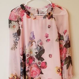 Ted Baker Floral Blouse